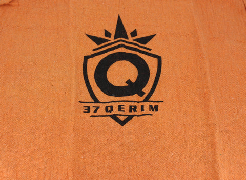37Q SWAG 13x13 Shop Towel in Orange with logo