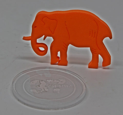 Ted (3d Printed) Intro item Orange