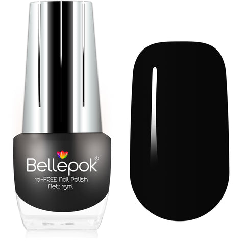 NATURAL NAIL POLISH 10-FREE ECO-FORMULA BLACK VELVET