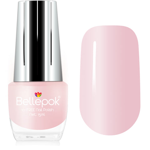 NATURAL NAIL POLISH 10-FREE ECO-FORMULA PINK BLUSH