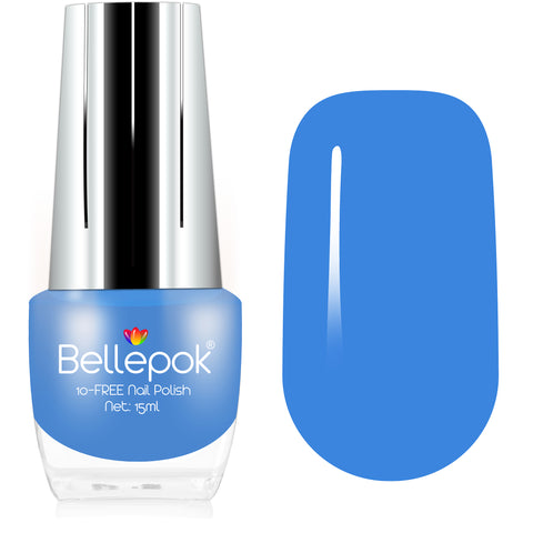 NATURAL NAIL POLISH 10-FREE ECO-FORMULA BABY BLUE