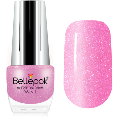 NATURAL NAIL POLISH 10-FREE ECO-FORMULA PINK PANTHER
