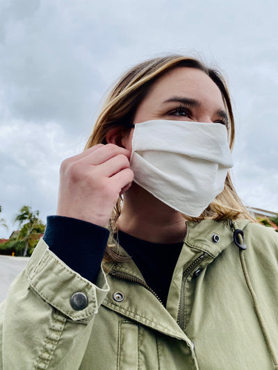 Eco-Cotton Twill Reusable Face Mask
