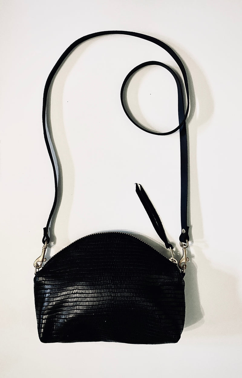 Kima Bella Half Moon Crossbody Bag