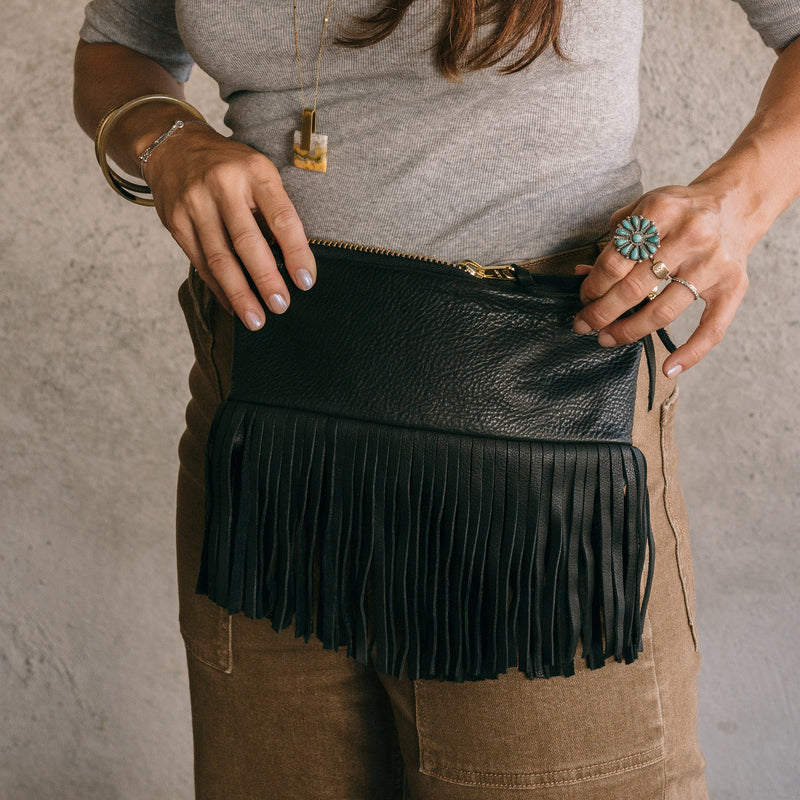 The Mini Vida Fanny Pack - Jax Fringe