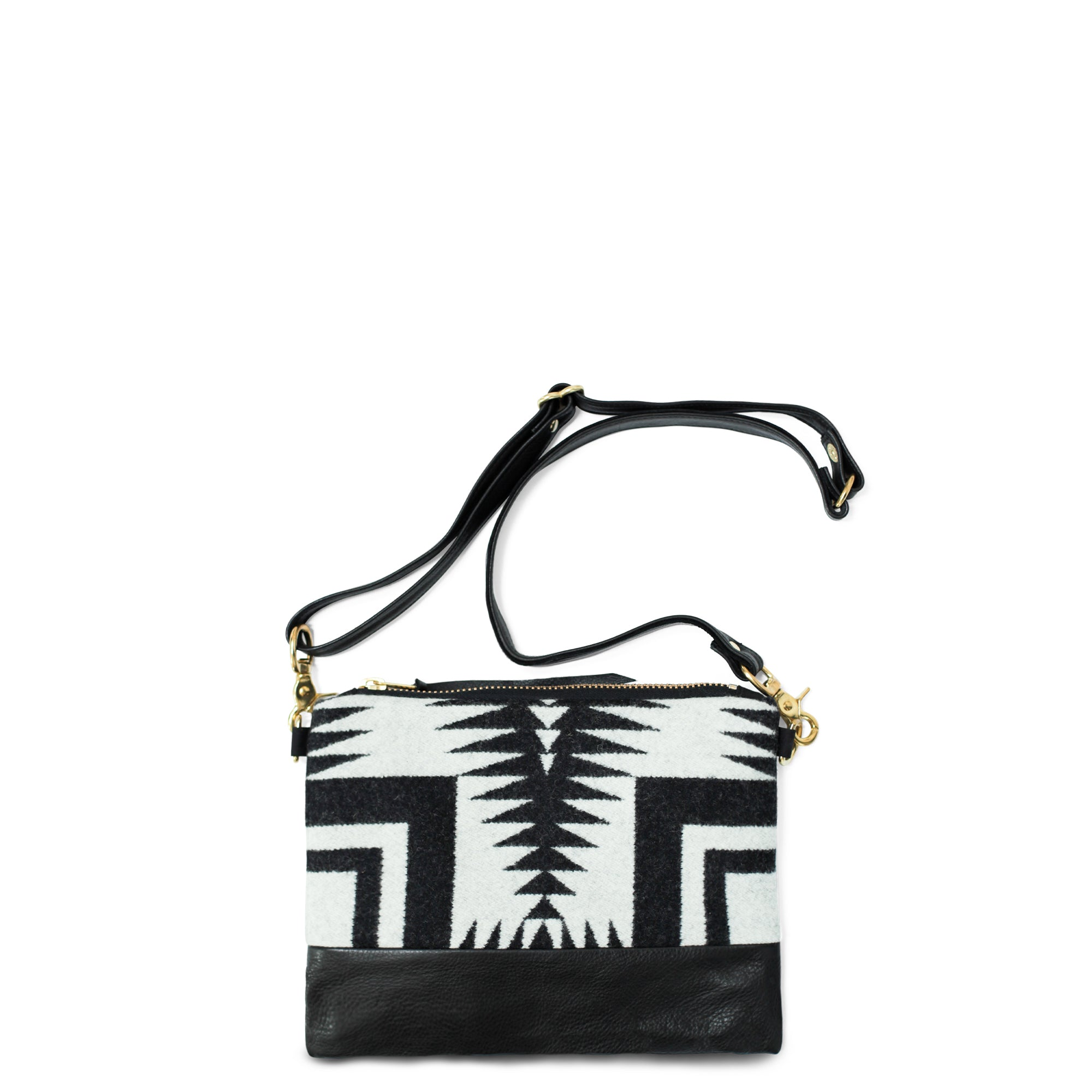 The Vida Crossbody - Pendleton® Luna Black