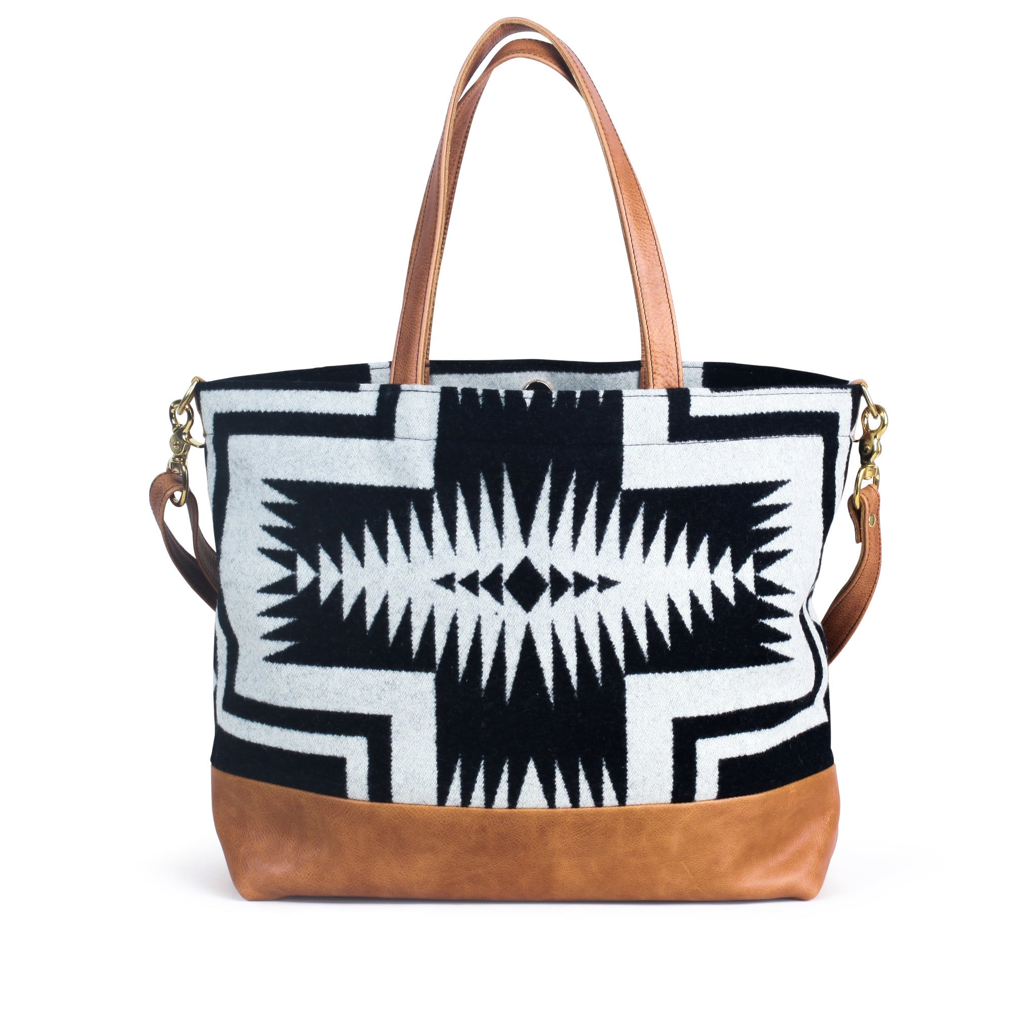 The Shia Tote - Pendleton® Luna Saddle - Rais Case - Image 1