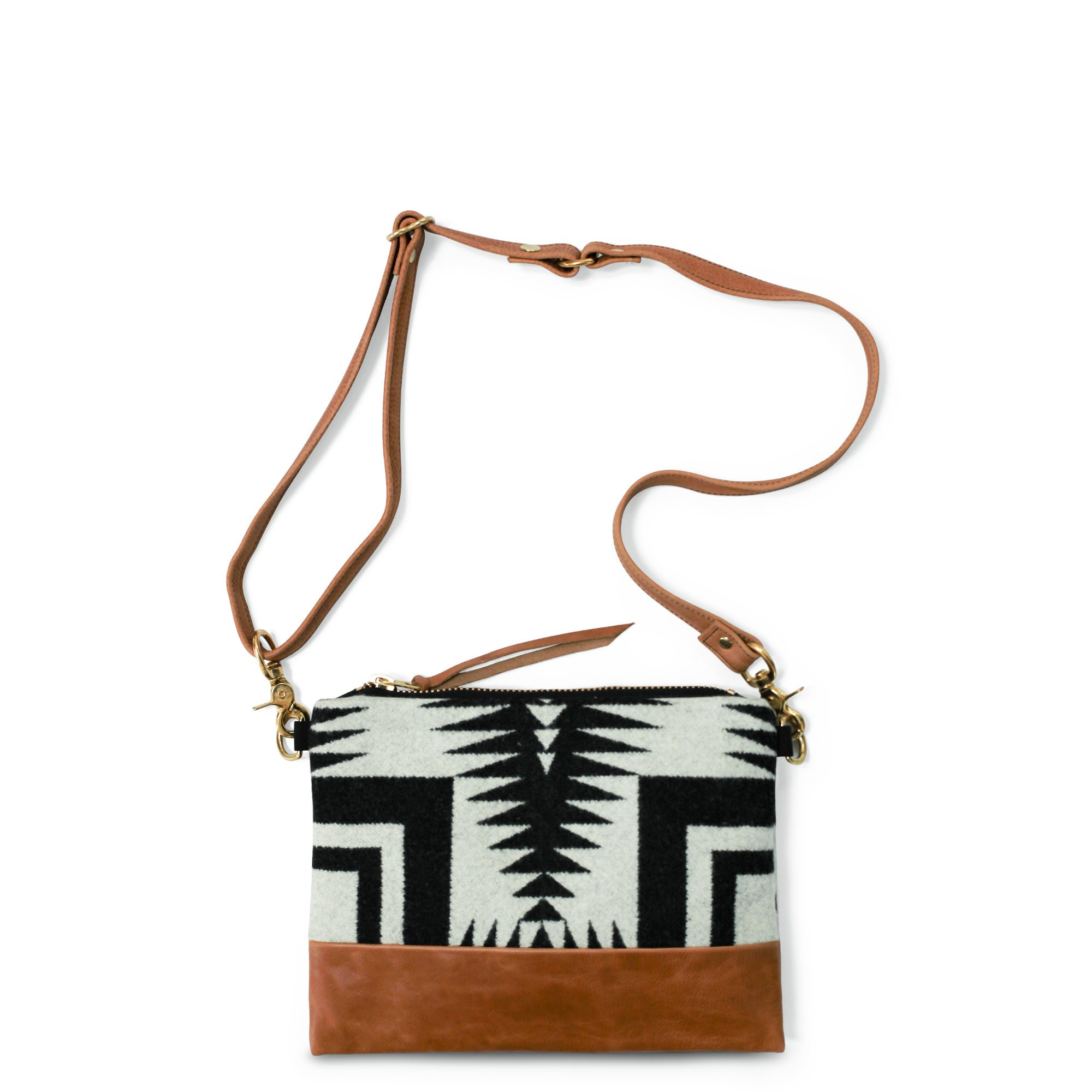 The Vida Crossbody - Pendleton® Luna Saddle