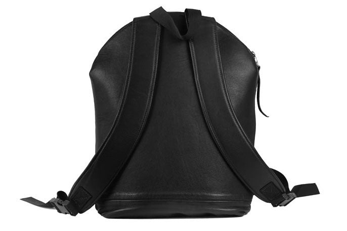 Backpack in Black Leather