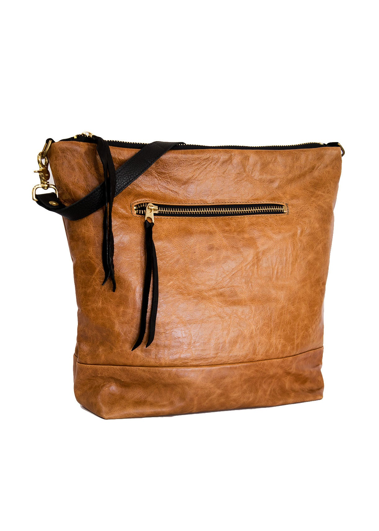Ellis Tote in Honey Leather