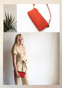 NEW PIÑATEX® EM MINI VIDA  / FANNYPACK & CLUTCH