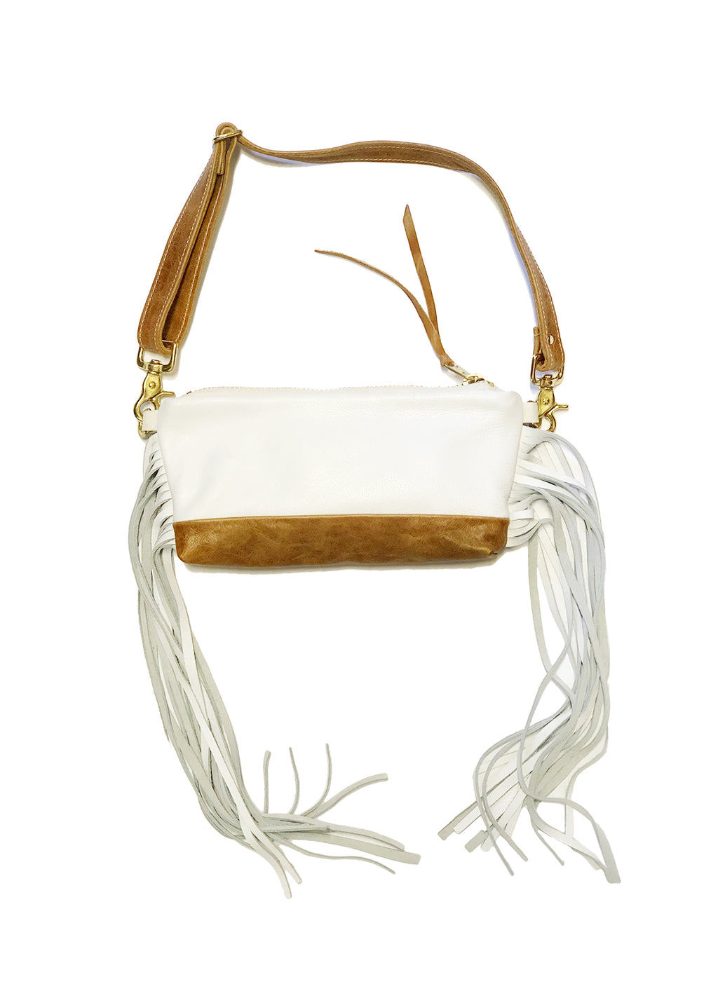 PACIFIQUE MINI VIDA with side fringe / Fannypack & Clutch