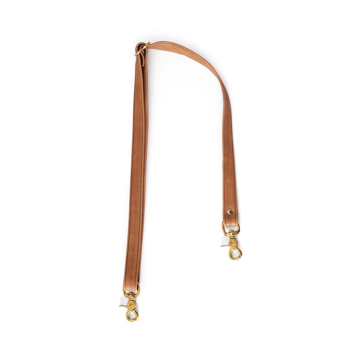 Crossbody Strap - Saddle