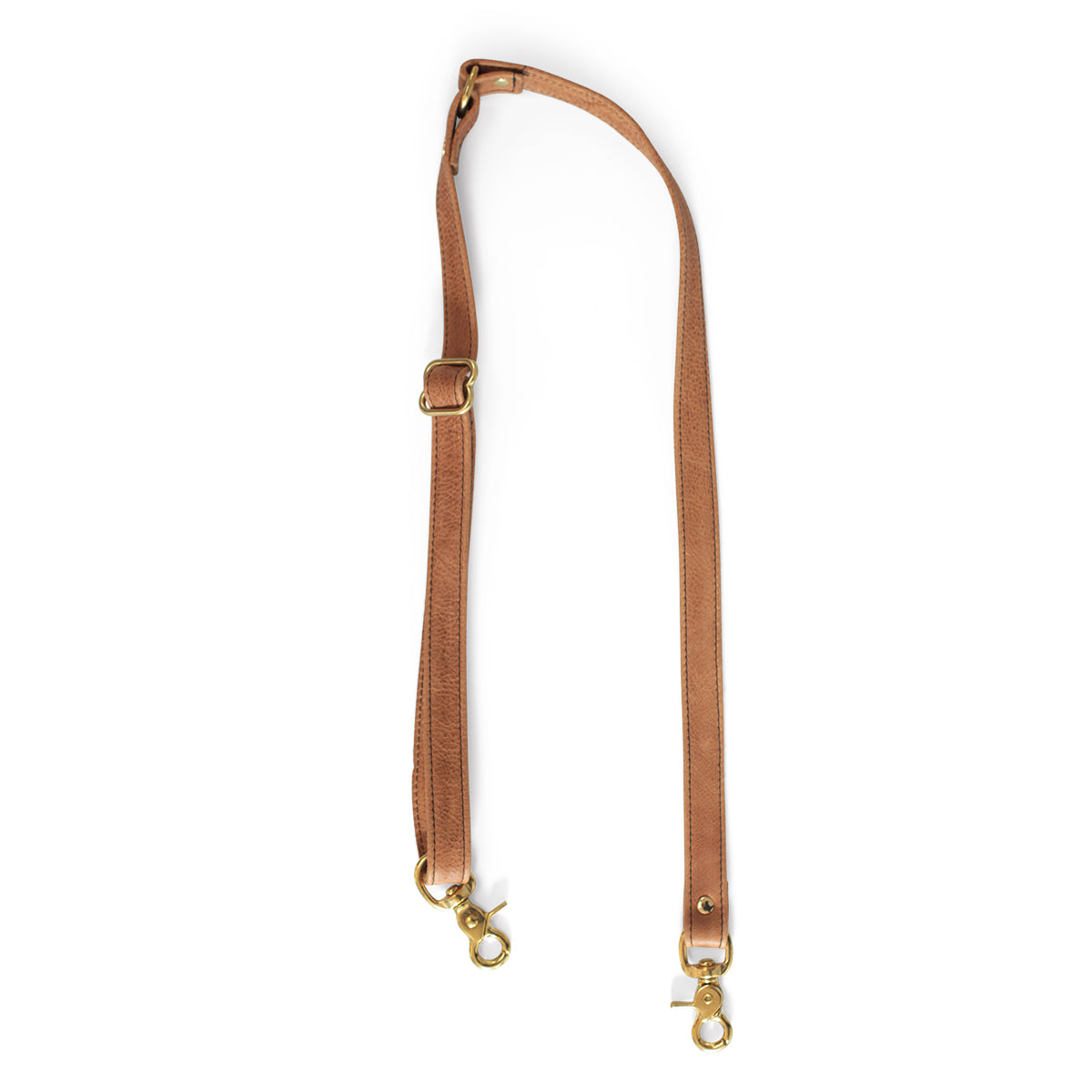 Two Piece Strap - Saddle