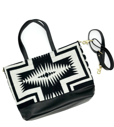 The Shia Tote - Pendleton® Luna Black - Rais Case - Image 3
