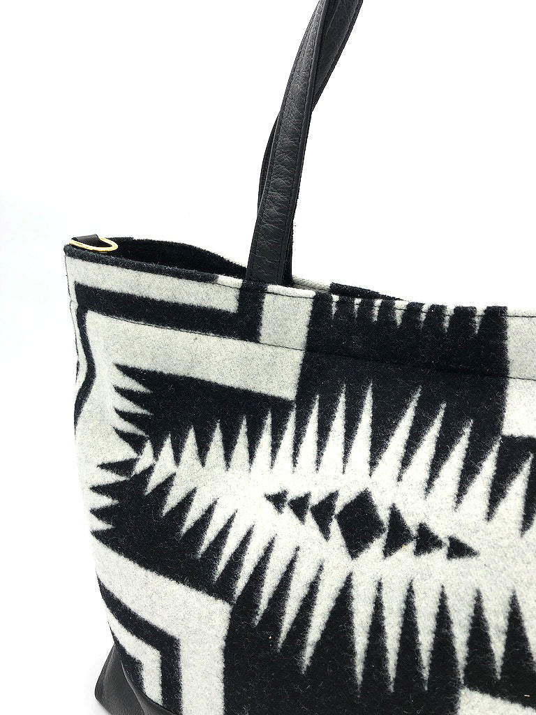 The Shia Tote - Pendleton® Luna Black - Rais Case - Image 1
