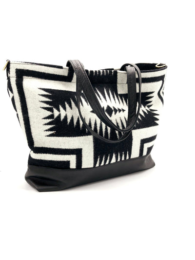 The Shia Tote - Pendleton® Luna Black - Rais Case - Image 4