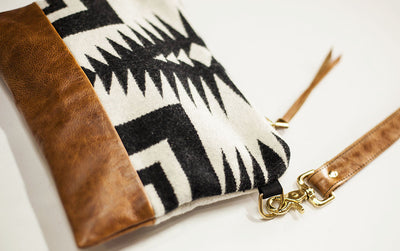 The Vida Crossbody - Pendleton® Luna Saddle - Rais Case - Image 3