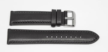 Classic Leather Strap Black Ferro Watches