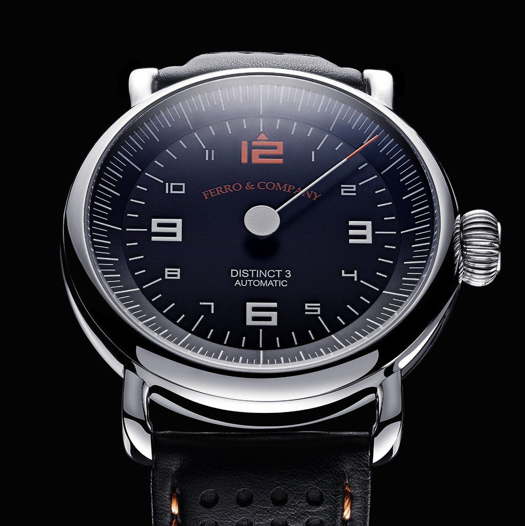 Distinct 3.0 Petrol Watch Ferro & Company Watches