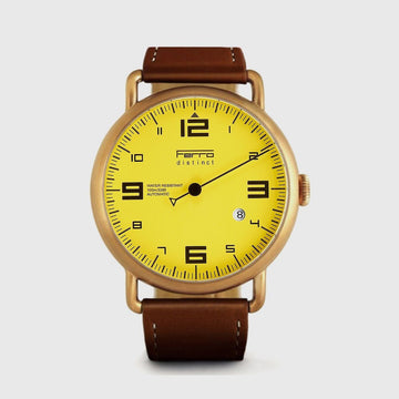 One Hand Watch Copper Case Automatic Watch Ferrowatches