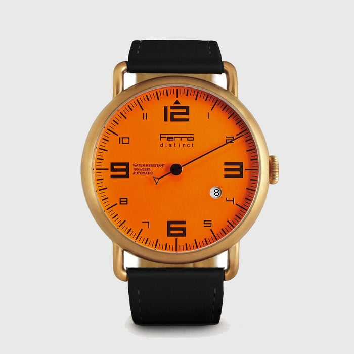 One Hand Watch Distinct Copper Case Automatic Watch Ferrowatches