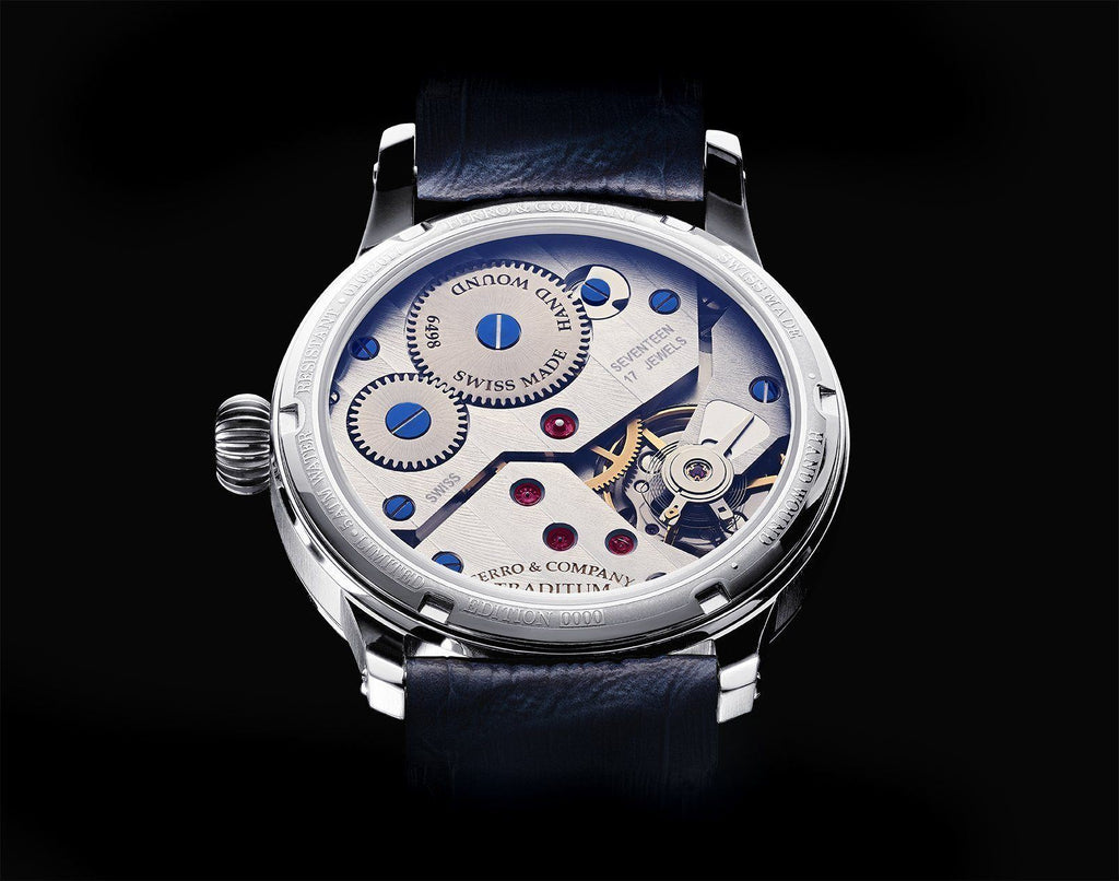 Traditum Roman White Watch Ferro Watches