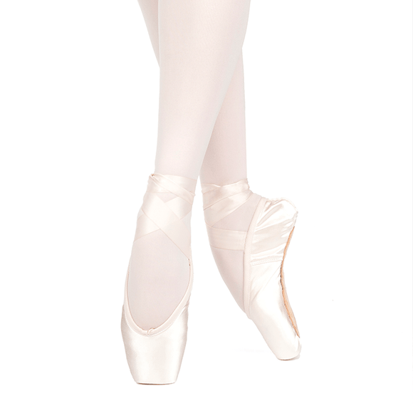 Lumina U-Cut with Drawstring Pointe Shoe by Russian Pointe