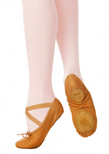 Canvas Performance Ballet Slippers 03006N by Nikolay