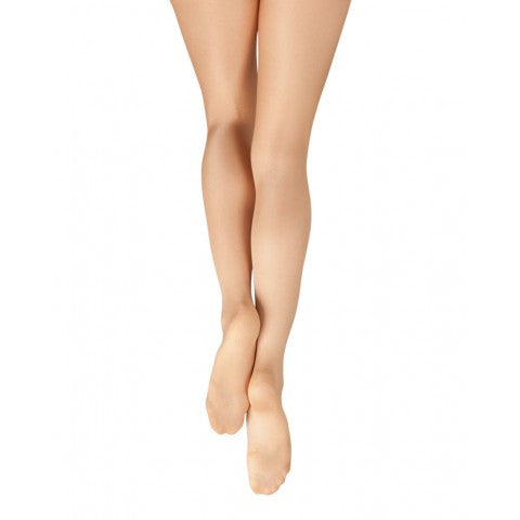 Capezio Ultra Shimmery Footed Tights 1808 and 1808C