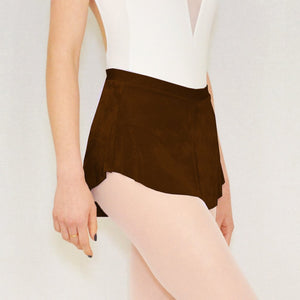 Chocolate Dance Skirt by Bullet Pointe