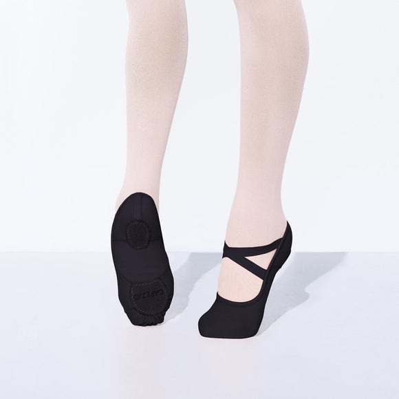 Hanami Ballet Adult Black 2037W by Capezio