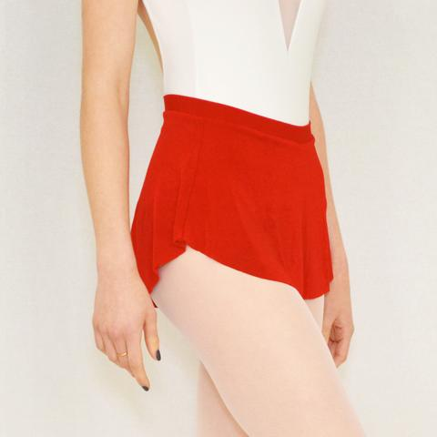 Red Dance Skirt by Bullet Pointe