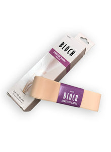 Stretch Satin Pointe Shoe Ribbon- A0528 by Bloch