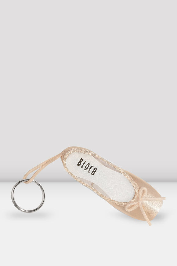 Mini Pointe Shoe Key Ring by Bloch