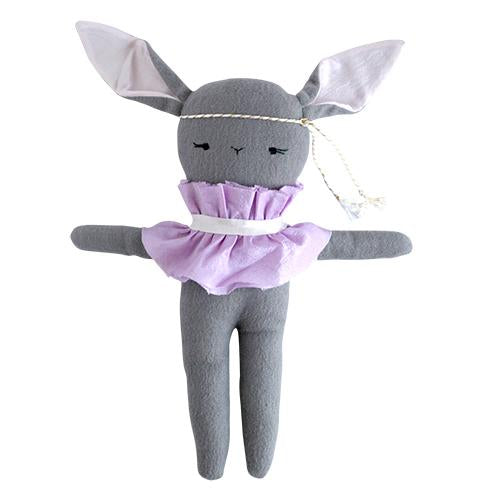Gray Mademoiselle Lapin by Ellie Fun Day