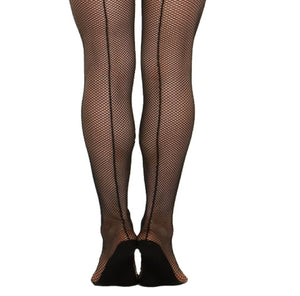 Fishnet Tight with Back Seam 3400 by Capezio