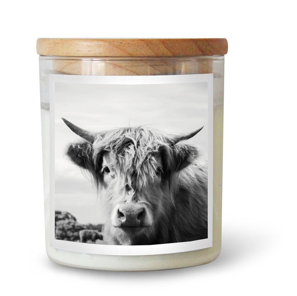 Highland Cow Soy Candle by Commonfolk Collective