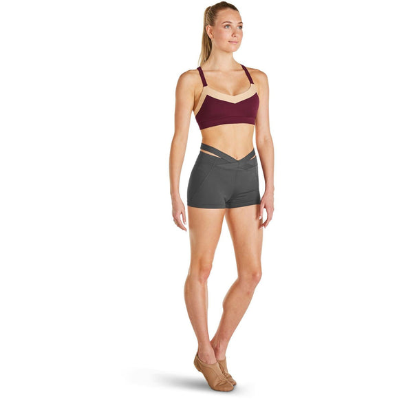 Crossover Waistband Short FR5062 by Bloch