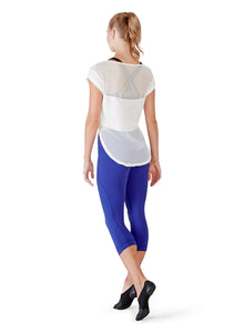 Mesh Panel T -Shirt FT5019 by Bloch