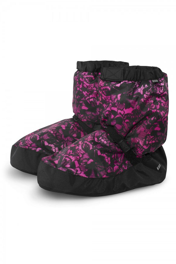 Bloch Adult Warm Up Bootie- IM009 Floral Pink