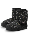 Bloch Adult Warm Up Bootie- IM009 Black Papillon Butterfly