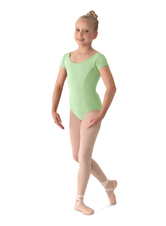 Cap Sleeve Leotard M515CD by Mirella