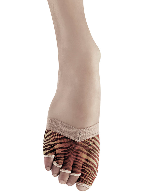 Bloch Soleil Foot Glove - Women S0662 Tiger