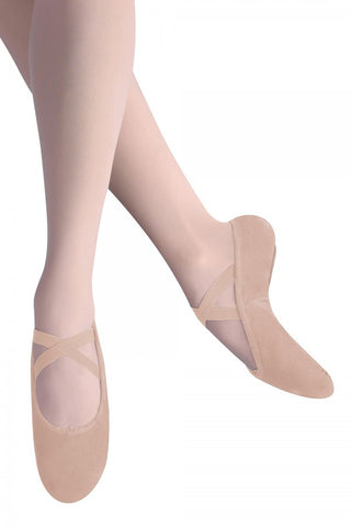 Bloch Arabesque Canvas Ballet Slipper- Women LS2305L