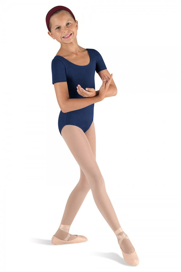 Bloch Short Sleeve Leotard- Child CL5402