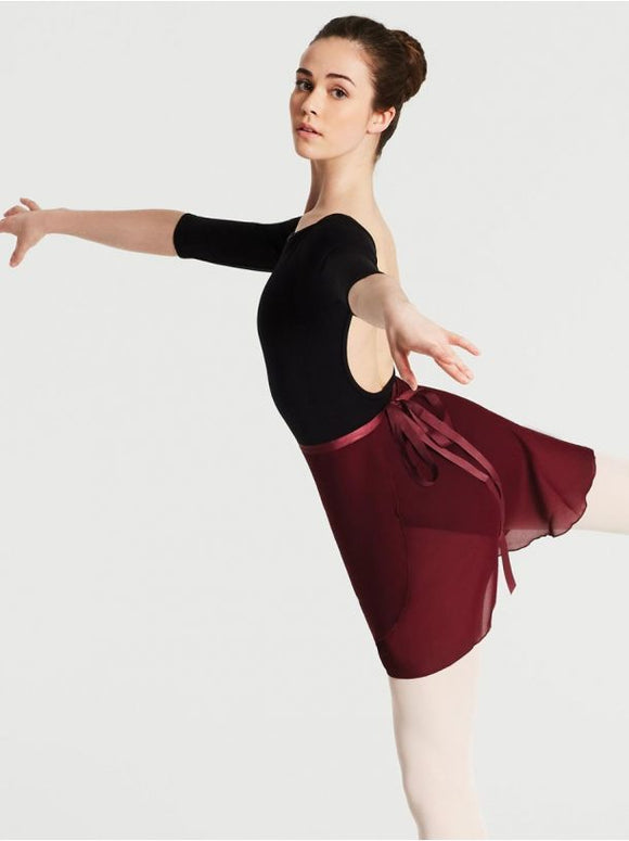Elegant Georgette Wrap Skirt N272 by Capezio