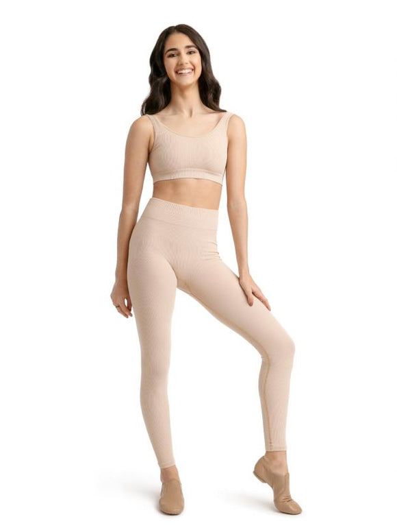 Ribbed Legging 11377W by Capezio