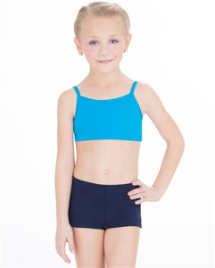 Capezio Camisole Bra Top - Child  TB102C Turquoise