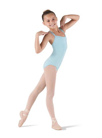 bloch couru double strap seamed leotard CL3667